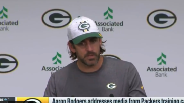Aaron Rodgers grievances press conference
