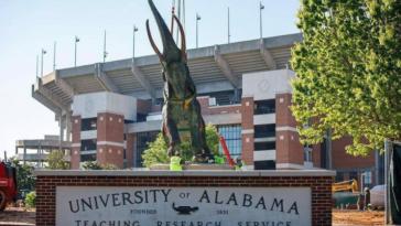 Alabama elephant statue