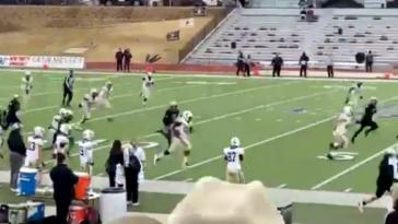 Amarillo Erik Gray hook and ladder touchdown video