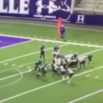 Arkansas high school football game ending