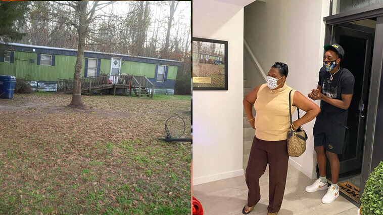 Bam Adebayo mother new house