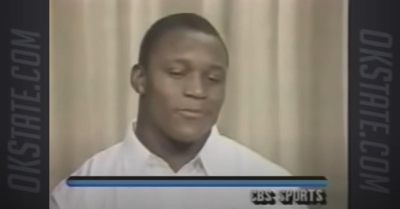 Barry Sanders 1988 Heisman Zoom