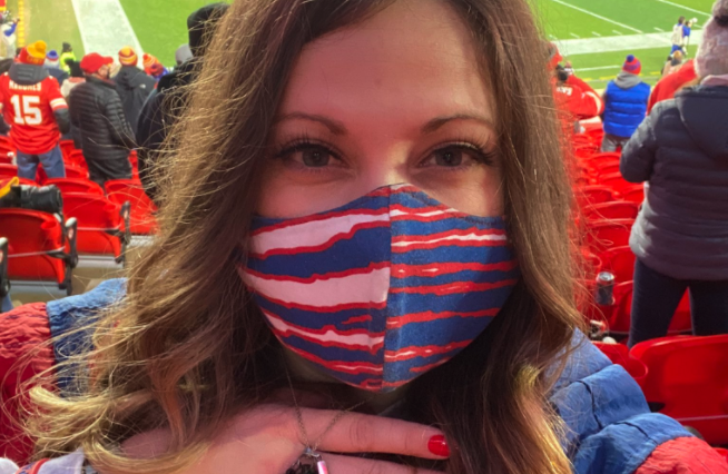 Bills fan spreads father's ashes at Arrowhead Stadium