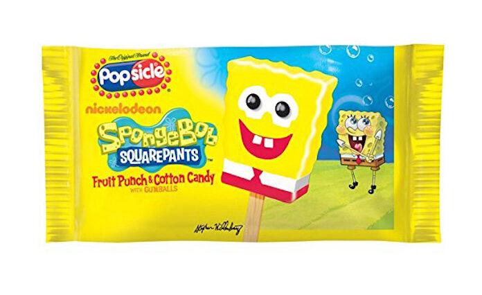 Boy buys Sponge Bob popsicles on Amazon