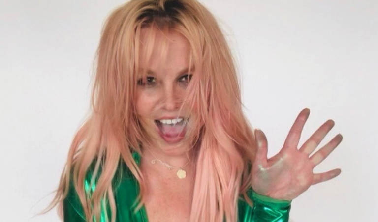 Britney Spears COVID message