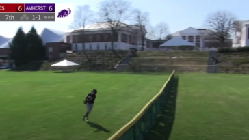 College baseball play of the year