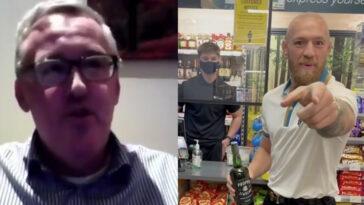 Conor McGregor Irish liquor store owner