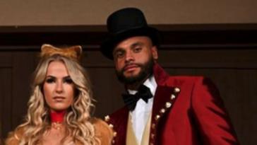 Dak Prescott Cowboys Halloween party with girlfriend Natalie Buffett