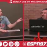 ESPN Houston radio guys fight