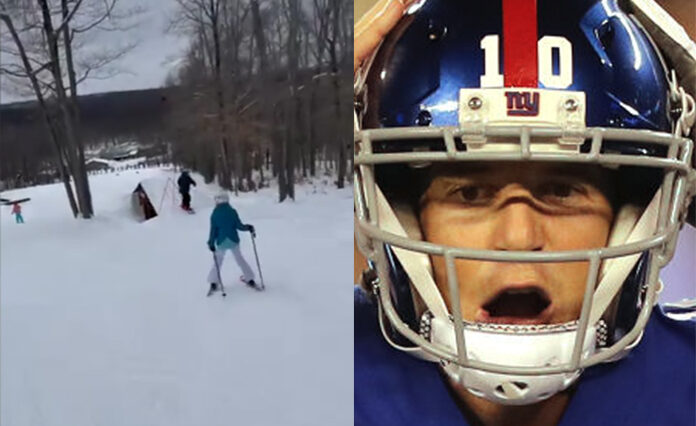 Eli Manning skiing accident