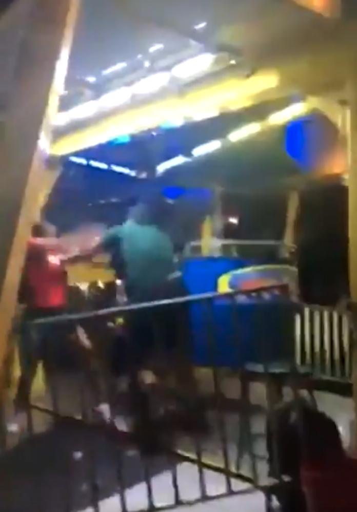 Florida Ferris wheel fight video