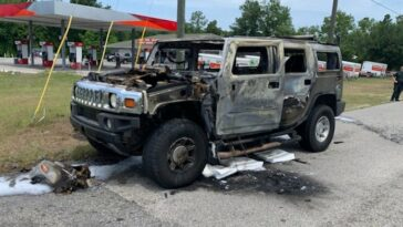 Florida Hummer fire gasoline hoarding