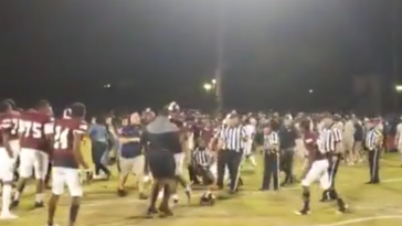 Florida high school football fight