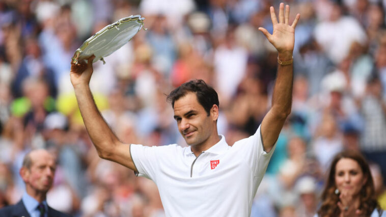 Wimbledon Finals To Allow 100% Capacity For Finals As Federer Seeks Ninth Title