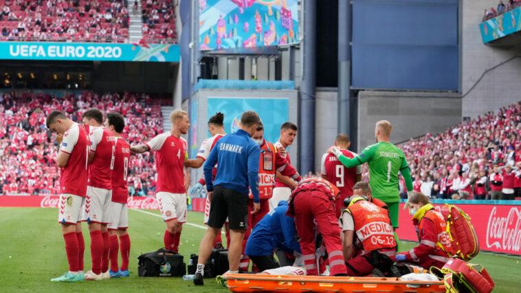 Denmark's Christian Eriksen Collapses During Game Against Finland