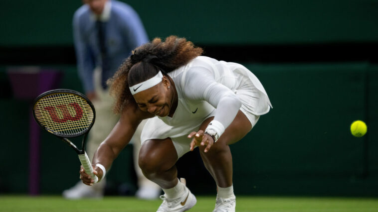 Serena Quits With Ankle Injury At Wimbledon