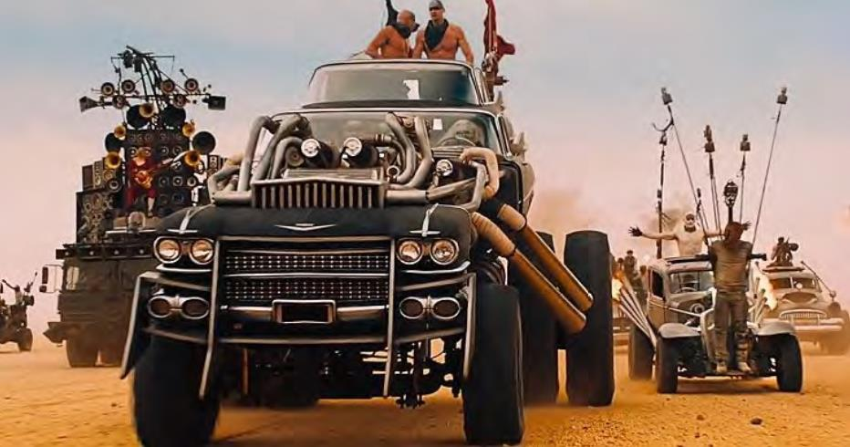 Gigahorse W16 Cadillac from Mad Max: Fury Road