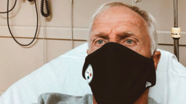 Greg Norman COVID hospital