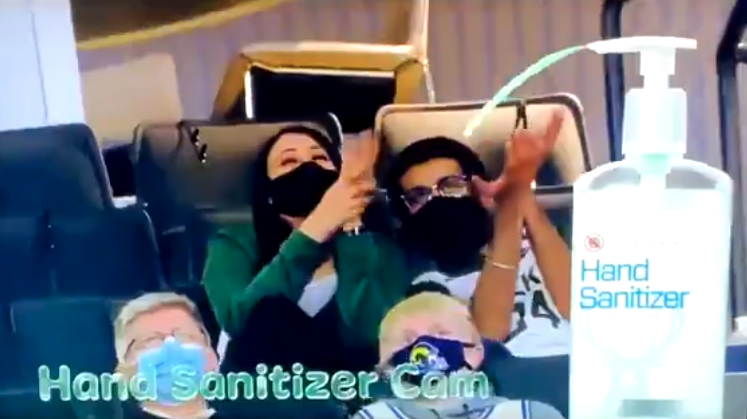 Hand Sanitizer Cam