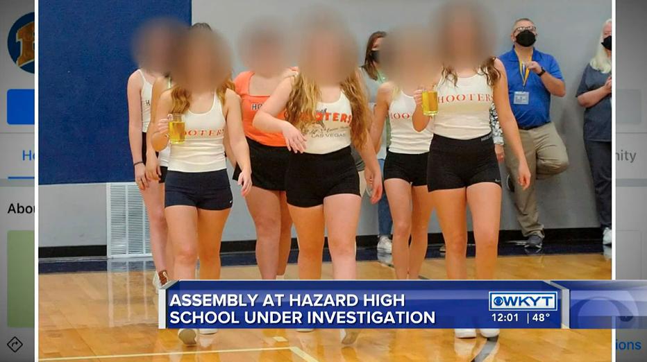 Hazard Kentucky homecoming costumes Hooters