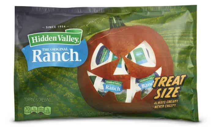 Hidden Valley Ranch Halloween packs