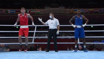 Irish boxer injured ankle celebrating Olympic win