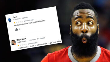 James Harden Restaurant reviews