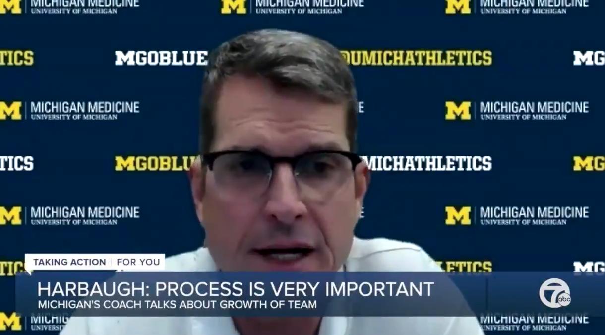 Jim Harbaugh trust the process