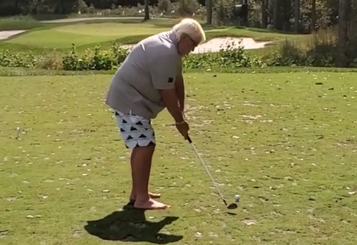 John Daly hole in one