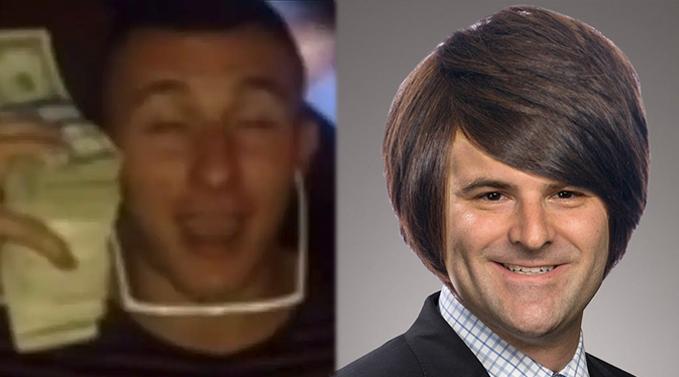 Johnny Manziel Darren Rovell feud