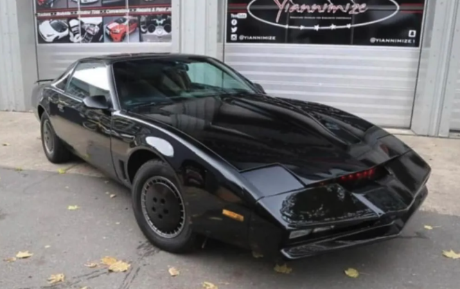 KITT Knight Rider car auction - 1