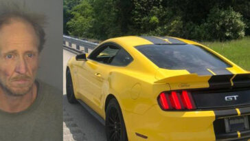 Kentucky Man Ford Mustang 143 MPH Arrested