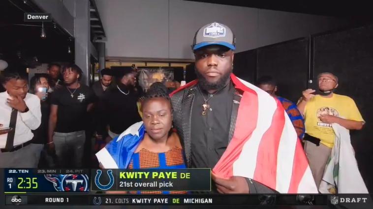 Kwity Paye mother retired