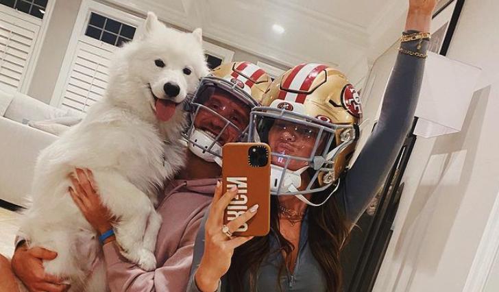 Kyle Juszczyk wife celebrates new contract