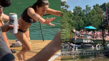Lake lanier dock party