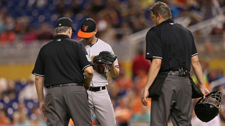 MLB Issues New Guidance For Pitchers, Foreign Substances