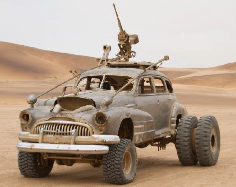 Mad Max Fury Road Buick heavy artillery with Hummer weapon