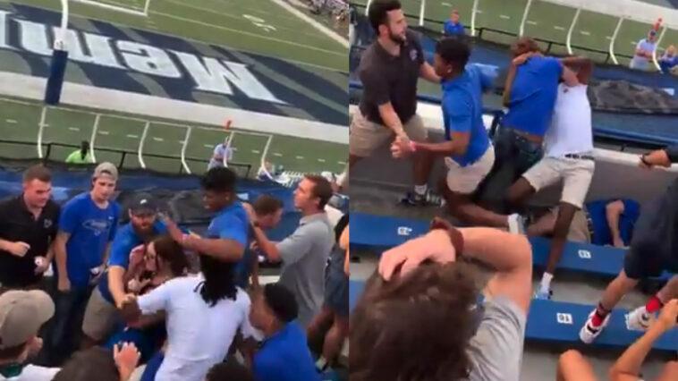 Memphis fan fight video
