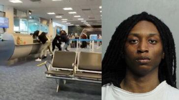 Miami airport fight Jameel Tremain Decquir lead
