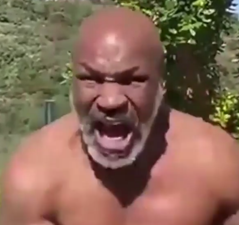 Mike Tyson on steroids?