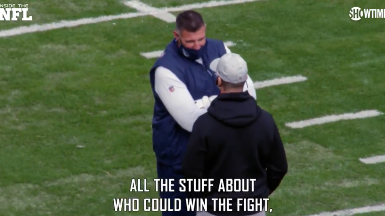 Mike Vrabel John Harbaugh who could win fight