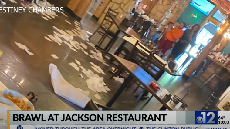 Mississippi restaurant fight video