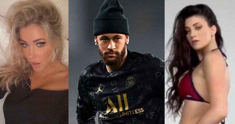 Neymar New Years party Instagram models