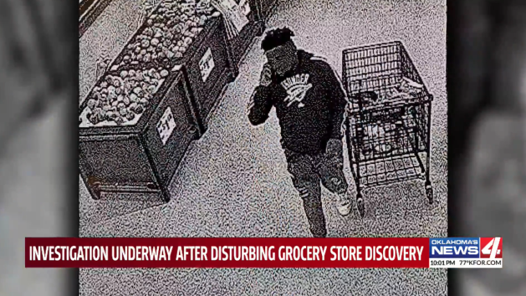Oklahoma City Thunder fan poops on pizza rolls grocery store