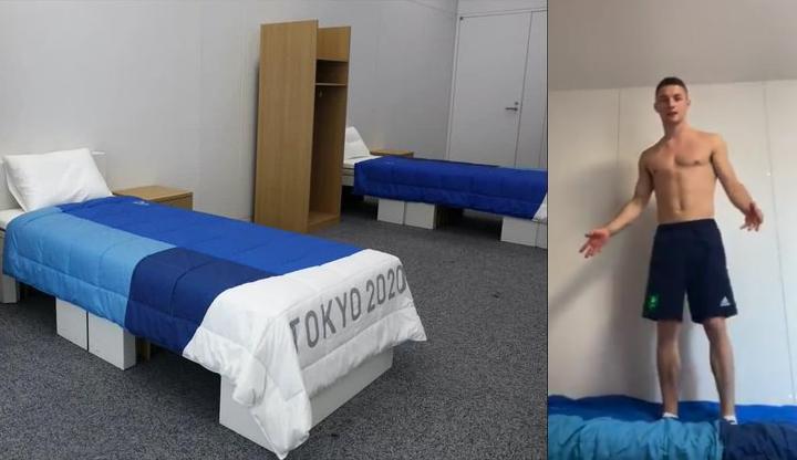 Olympics anti-sex beds