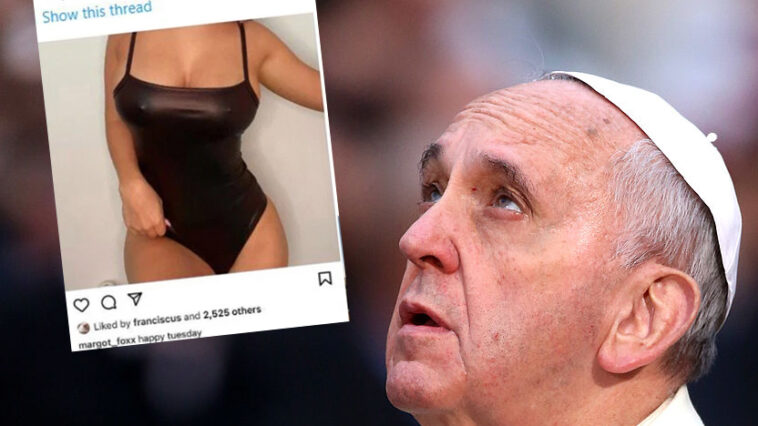 Pope Francis Margot Foxx