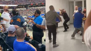 Rams-Bears fight SoFi Stadium