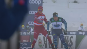 Russian cross country skier disqualified for whipping opponent