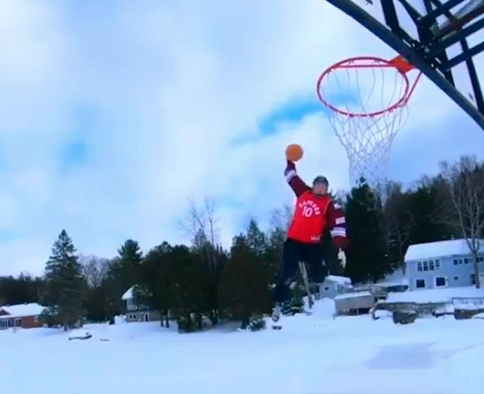 Skating dunk Canada video