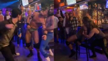 Statesboro Bar Wrestling